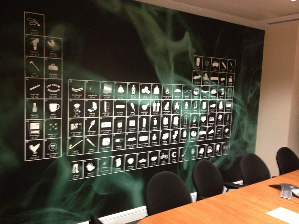Digital wallpaper murals london for Digital print mural
