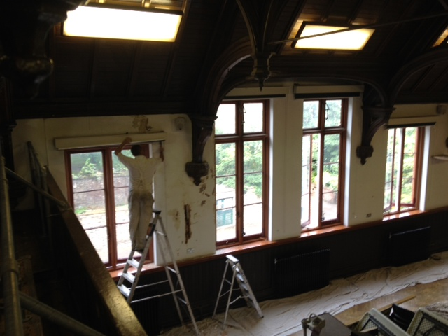 Redecorating a Listed Building