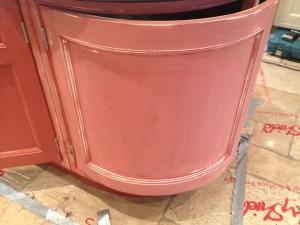 Kitchen painting preparation