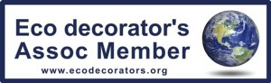 We are members of the Eco Decorators' Association