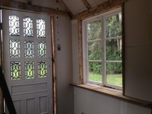 Porch Internal Before